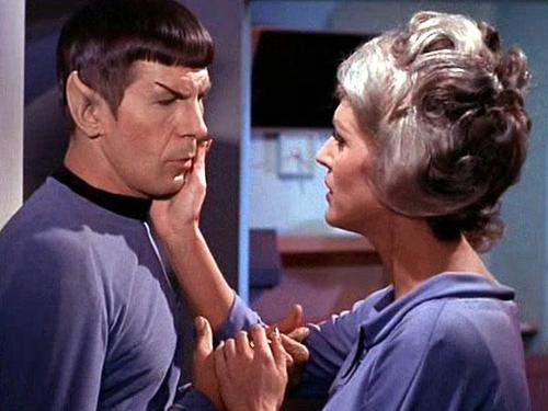 Chapel confesses her love to Spock