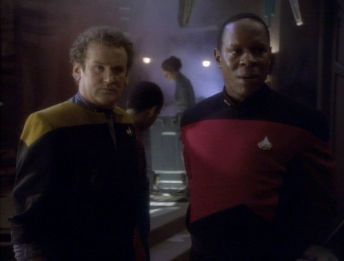 Sisko and O'Brien