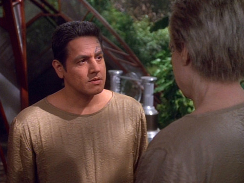 Chakotay talks to the Sky Spirit