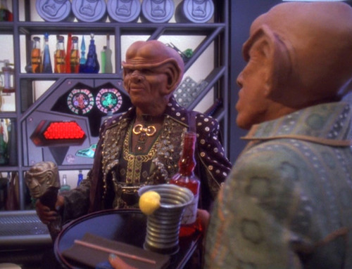 Brunt arrives at Quark's