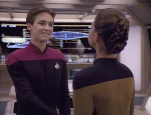 Wesley meets Robin