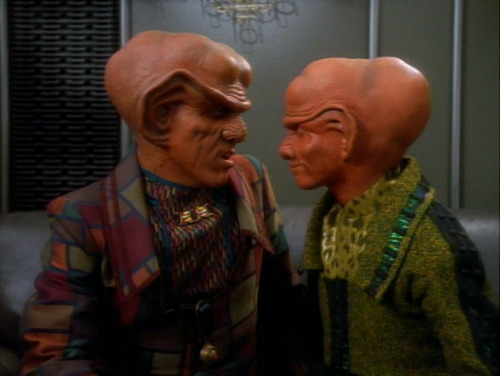 Pel and Quark share a moment