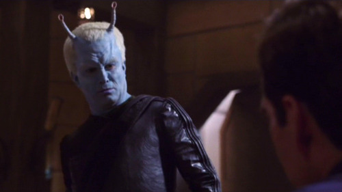 Shran glares at Archer