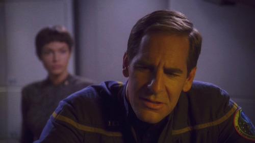 Archer expresses skepticism to T'Pol