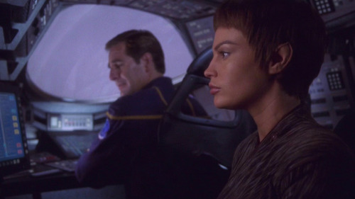 T'Pol and Archer in Shuttlepod
