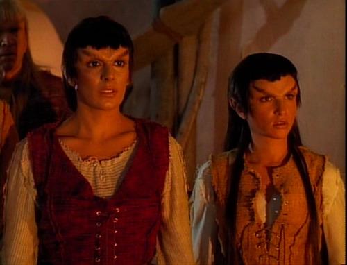 Troi and Liko, a young woman Mintakan