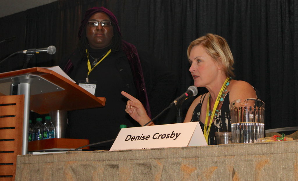Denise Crosby at her Geek Girl Con 2013 Q&A