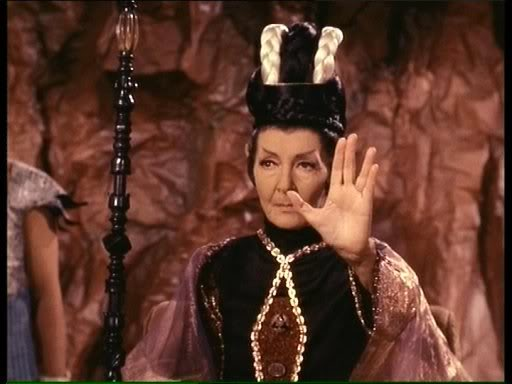 """Celia Lovsky as T'Pau in """"Amok Time"""""""