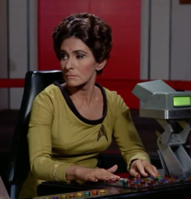 Naomi Pollack as Lt. Rahda