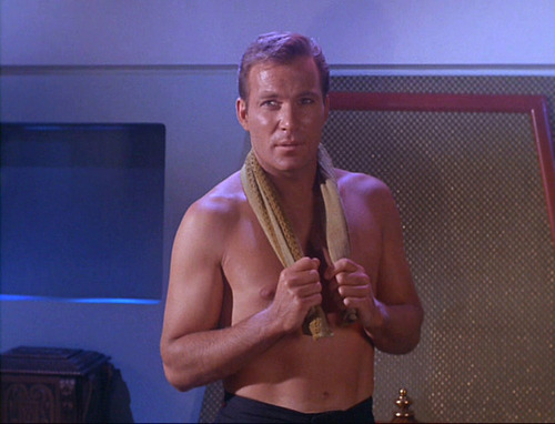 Shirtless (Dry) Kirk