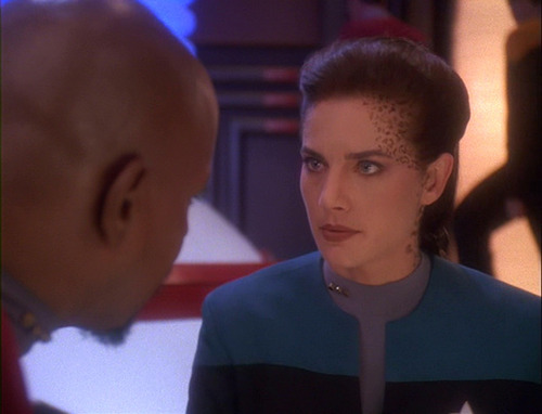 Dax and Sisko talk