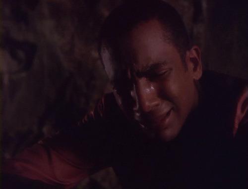 Jake cries