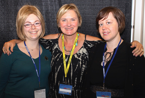 Me, Denise Crosby and Tanya