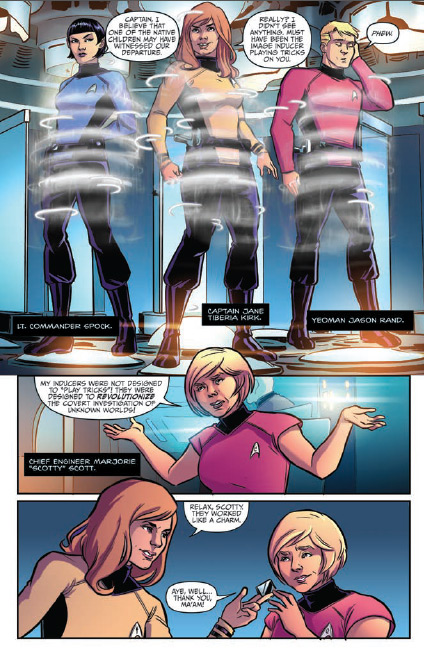 Parallel Lives page 1