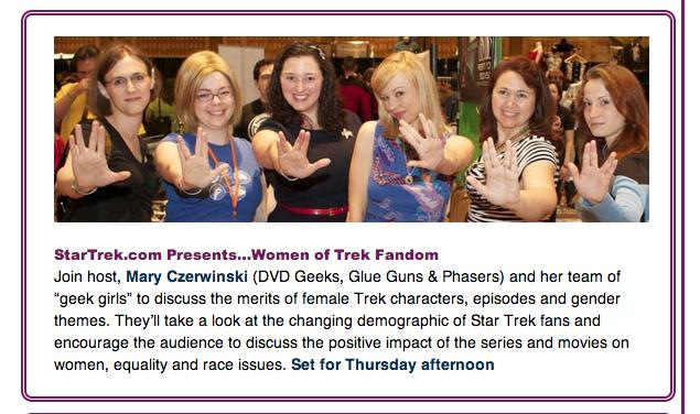 StarTrek.com Presents...Women of Trek Fandom