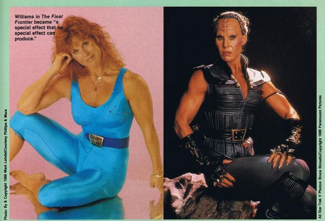 Photo of Spice Williams out of costume in a leotard and in full makeup as Vixis