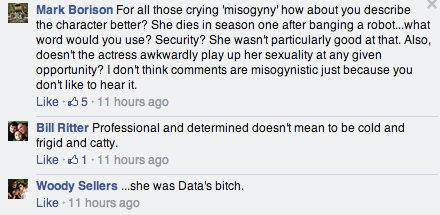 Mansplaining yar comments