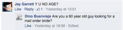 """Jay Garrett: """"Y U NO AGE?"""""""