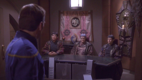 Archer faces the Vulcan panel