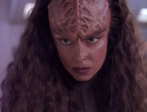 Klingon scientist in Suspicions