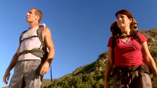 Archer and Erika are climbing a mountain