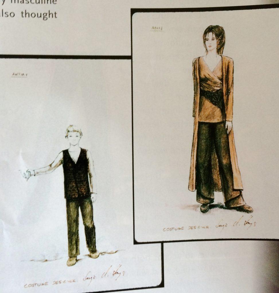 Ba'ku costume concept art