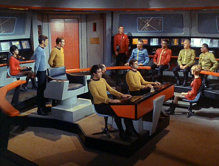 The Enterprise bridge