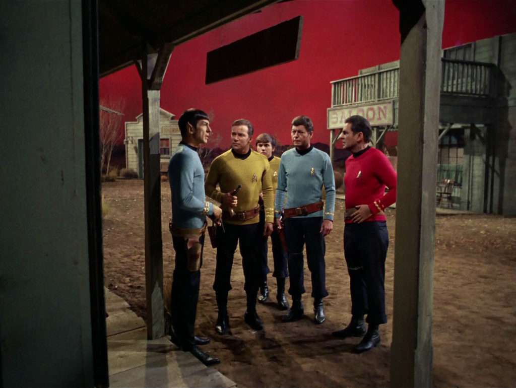 """Spectre of the Gun"" shows the impact of colour in TOS"
