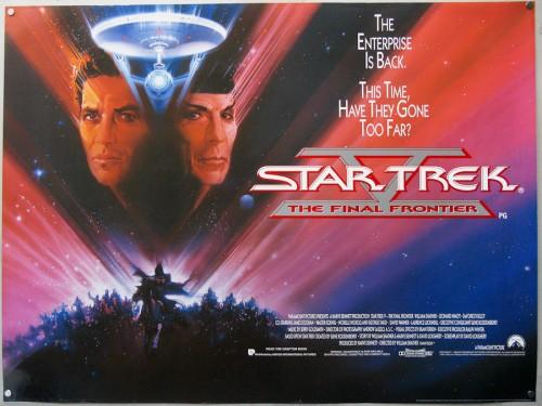 promo art for Star Trek V