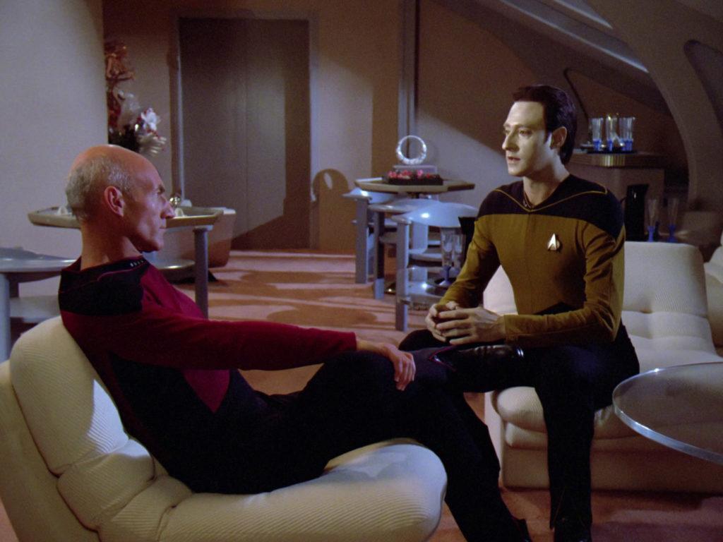 Picard apologizes to Data