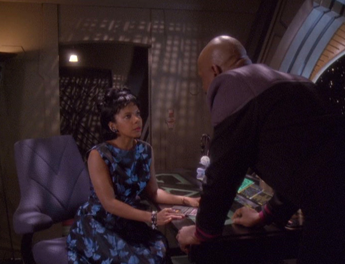 Sisko and Kasidy argue