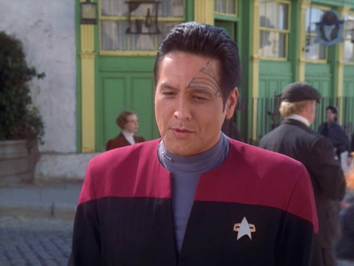 Chakotay interrupts