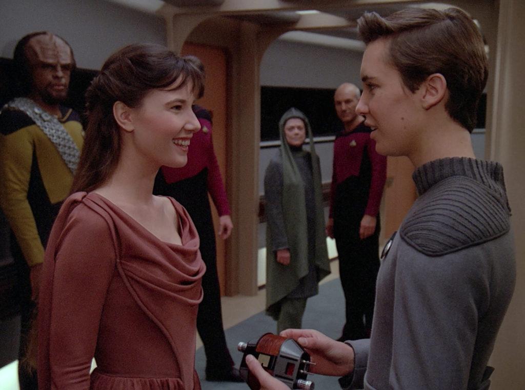 Salia meets Wesley