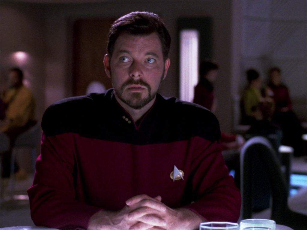 Riker looks confused