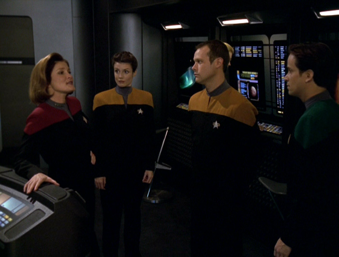 "Janeway and her crew of ""lost sheep"""