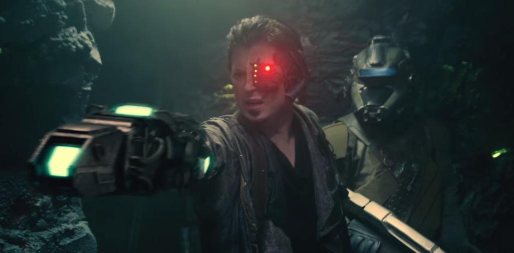 Icheb and his bionic arm/gun