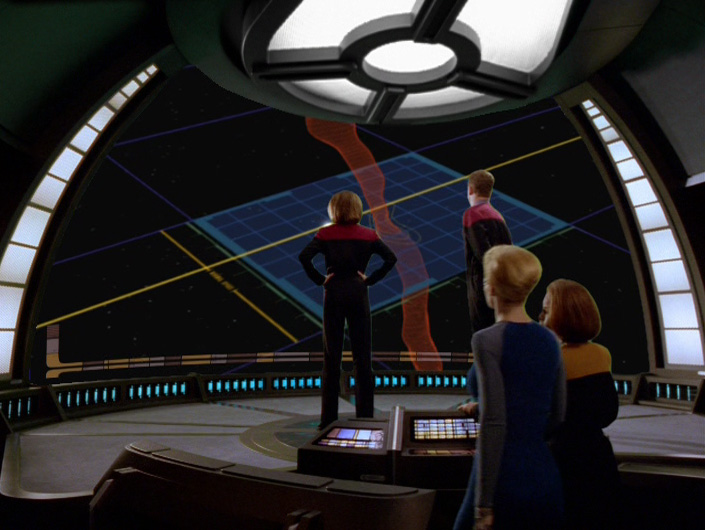 Janeway and others in Astrometrics
