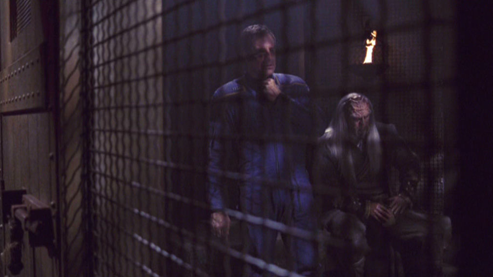 Archer in his cell