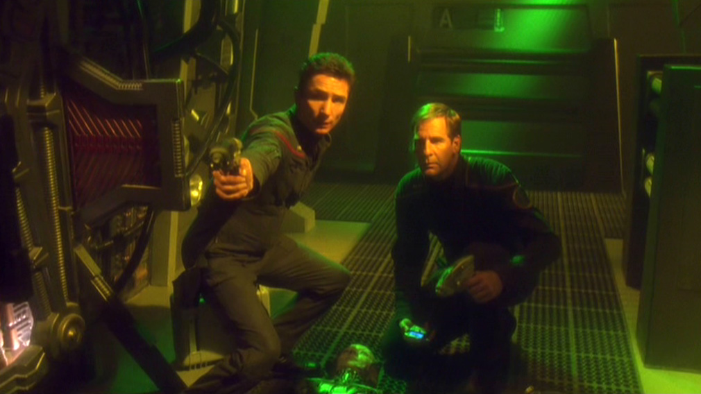 Reed and Archer aim at the Borg