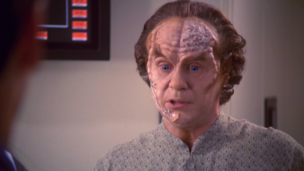 Phlox starts to become Borg-ified