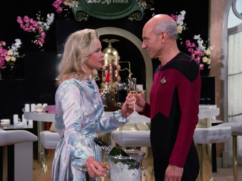 Jenise and Picard