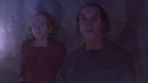 Phlox in a cave in The Breach with the woman scientist