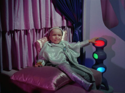 Clint Howard as Balok, an alien commander who looks like a child