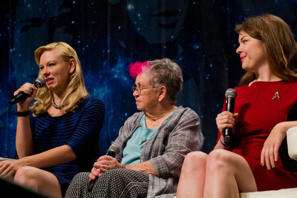 STLV women's panel on stage