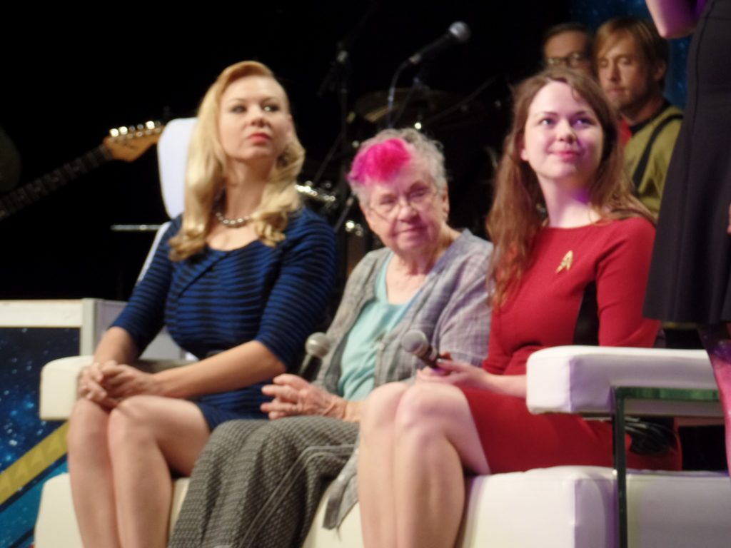 Women's panel on stage