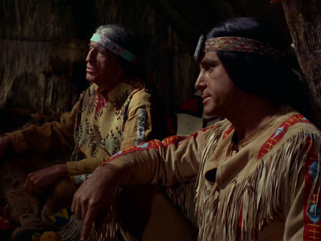 Medicine Chief Salish and a village elder
