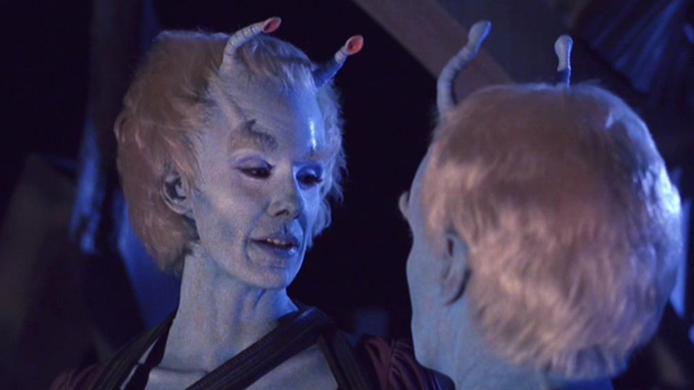 Suzie Plakson as the Andorian Tarah